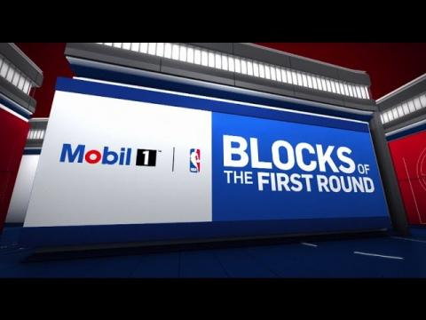 Top 10 Blocks of the First Round | 2017 NBA Playoffs