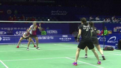 TOTAL BWF Thomas & Uber Cup Finals 2016 | Badminton-Day 1/S3- Uber Cup Grp A DEN vs SPA – Highlights
