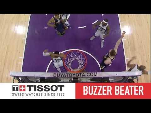 Gobert Beats The Buzzer In OT!   Tissot Buzzer Beater   03.05.17