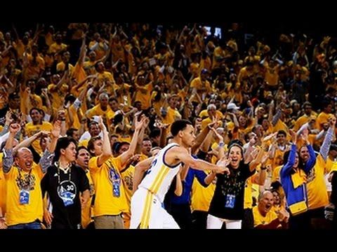 Curry Hits Buzzer Beating Jumper to End Half