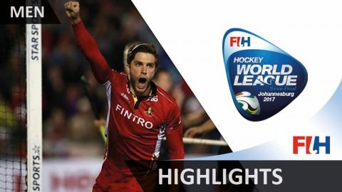 Highlights from the Hockey World League Johannesburg Men