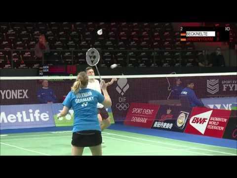 Yonex Denmark Open 2016 | Badminton Day 1 - Court 2