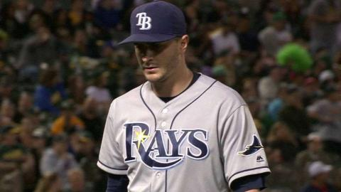 TB@OAK: Odorizzi works out of a tight spot in the 8th