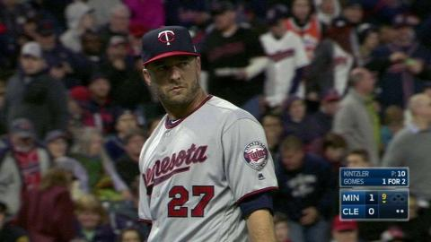 MIN@CLE: Kintzler nails down save in 1-0 win