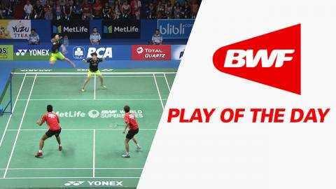 Play Of The Day | Badminton F - BCA Indonesia Open 2017