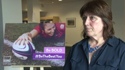 Scottish Rugby invites women to #BeTheBestYou with new campaign.