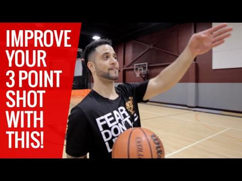 How To: Improve Your 3 Point Shot! Great Shooting Drill!