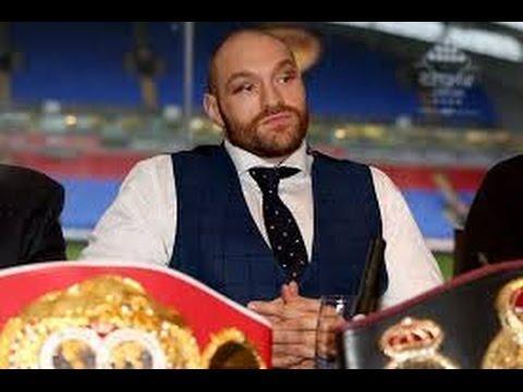 Tyson Fury Stripped Of IBF Title For Klitschko Rematch Instead Of Mandatory Vyacheslav Glazkov