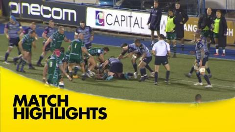 Cardiff Blues v London Irish - Anglo Welsh Cup 2017-18