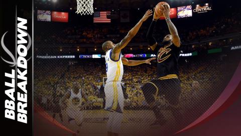 Iguodala's Block On LeBron: Is The Hand Part of the Ball?