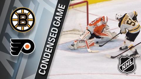 12/02/17 Condensed Game: Bruins @ Flyers