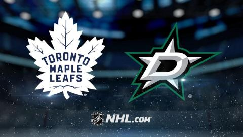 McElhinney, Kadri lead Leafs past Stars, 4-1