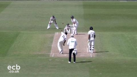 Victory in sight for Notts after wickets tumble - Day 3