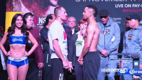 HBO Boxing News: Kovalev vs. Ward Weigh-In Recap (HBO Boxing)