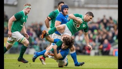 Half-time Highlights: Ireland v Italy | NatWest 6 Nations