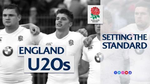 Setting the standard: England U20s