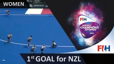 NZL 1-1 USA New Zealand get a well deserved equaliser as Merry reacts to knock in a rebound #HCT2016