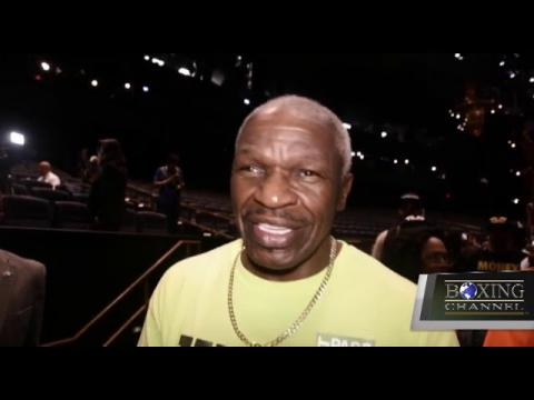 Floyd Mayweather Sr Faces The Media Throng