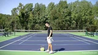 Serve Toss Tennis Lesson -- Accuracy And Consistency