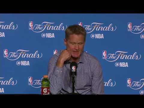 Steve Kerr, Tyronn Lue NBA Finals Game 2 Press Conference