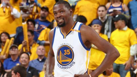 Top 5 Kevin Durant Plays from the 2017 Playoffs