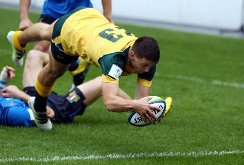 Australia U20s get bonus point win v Italy - Match Highlights