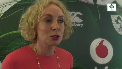 Irish Rugby TV: Anne O'Leary On Vodafone's Sponsorship Of The Ireland Rugby Team
