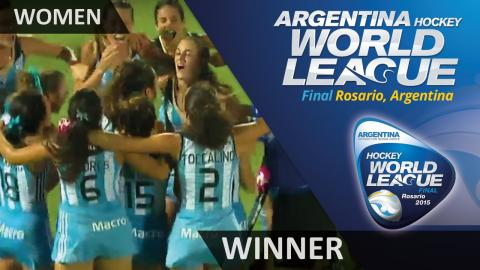 ARG 5-1 NZL Argentina win the Hockey World League Final #HWL2015 #Rosario