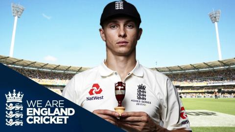 Tom Curran Joins The Squad In Australia - The Ashes 2017/18
