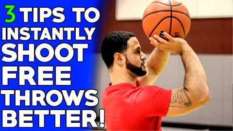 How To: Shooting A Basketball Better | EASY Free Throw Shooting Tips!