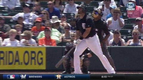 NYY@DET: J.D. Martinez goes deep for the second time