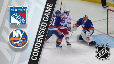 02/15/18 Condensed Game: Rangers @ Islanders