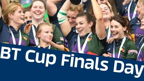 BT Cup Finals Day | Murrayfield Wanderers v Hillhead Jordanhill - Sarah Beaney Cup