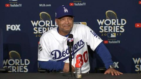 WS2017 Gm6: Roberts on emotions after Game 6 win