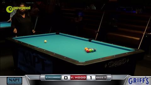 #1 - 10 BALL - Vivian VILLARREAL vs Vanessa HOOD - 2017 NAPT Desert Challenge