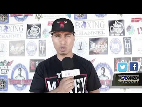 """MIKEY GARCIA """" WE WANT TO WIN TITLES IN MULTIPLE DIVISONS """""""