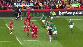 Rugby Union Six Nations 2015 Round 4 Wales Vs Ireland Full Match HD