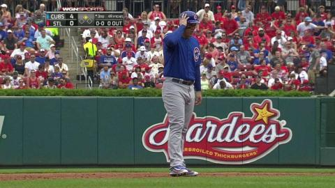 CHC@STL: Rizzo lines an RBI double to right-center
