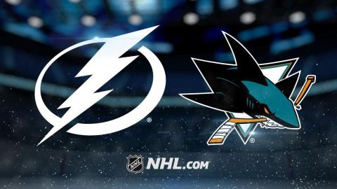 Namestnikov, Stamkos lead Lightning past Sharks, 5-1