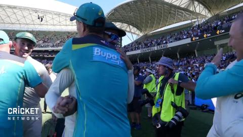 RAW VISION: Australia celebrate in Adelaide