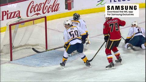 Situation Room: Gaudreau's shot goes in