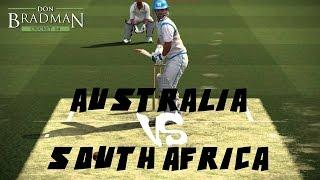 Don Bradman Cricket 14 PS4 1080P 60FPS Gameplay | Australia Vs South Africa | Online