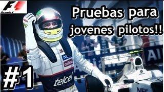 Formula 1 2012 - Modo Trayectoria   Prueba Para Nuevos Pilotos! [ Cap.#01]