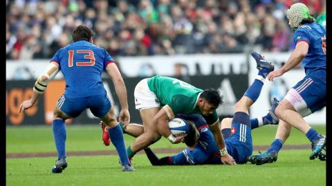 First half Highlights: France 3-9 Ireland | NatWest 6 Nations