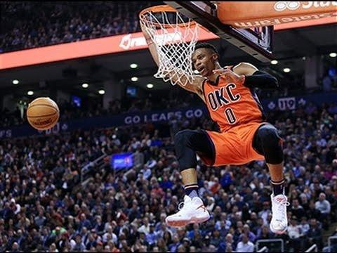 Russell Westbrook Records Triple-Double at Toronto