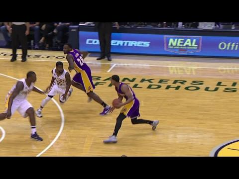 Jordan Clarkson Drops Defender with Crossover!
