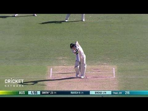 First Test: Australia v England, day two