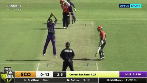 Hobart Hurricanes v Perth Scorchers, WBBL|03