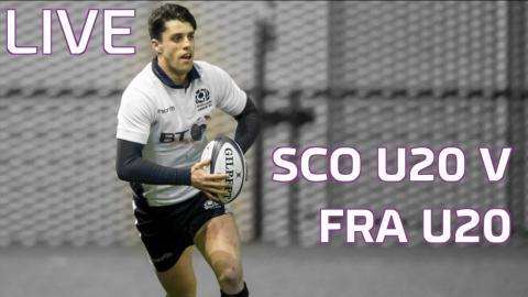 Six Nations: Scotland U20 v France U20