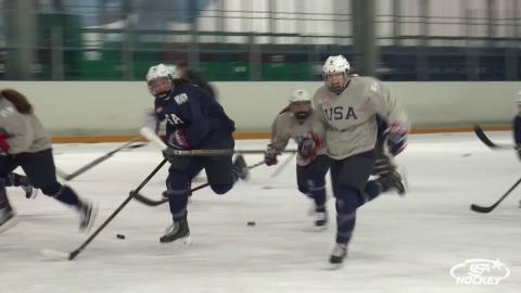 2018 U18WWC: Team USA Arrives in Russia